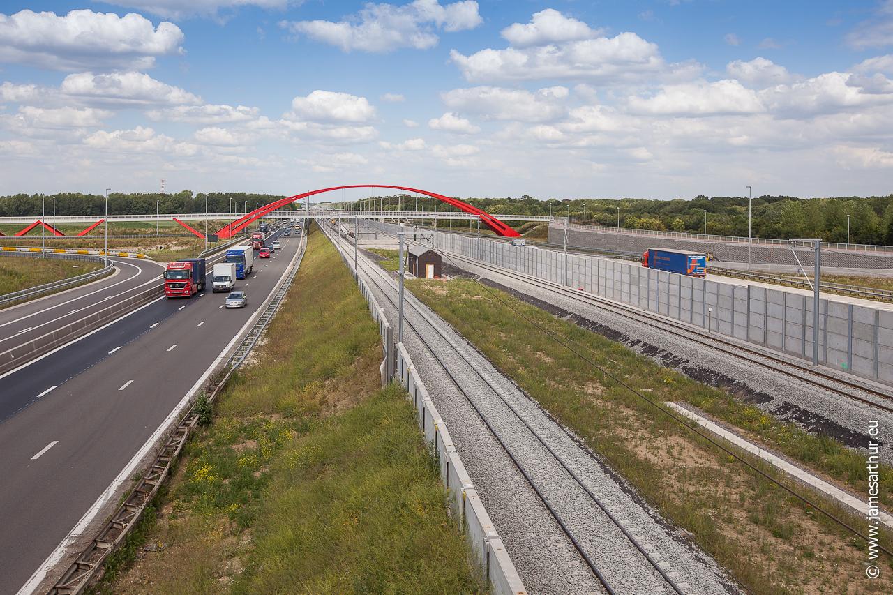 Fietsersbrug E19 Vilvoorde (1 of 5)