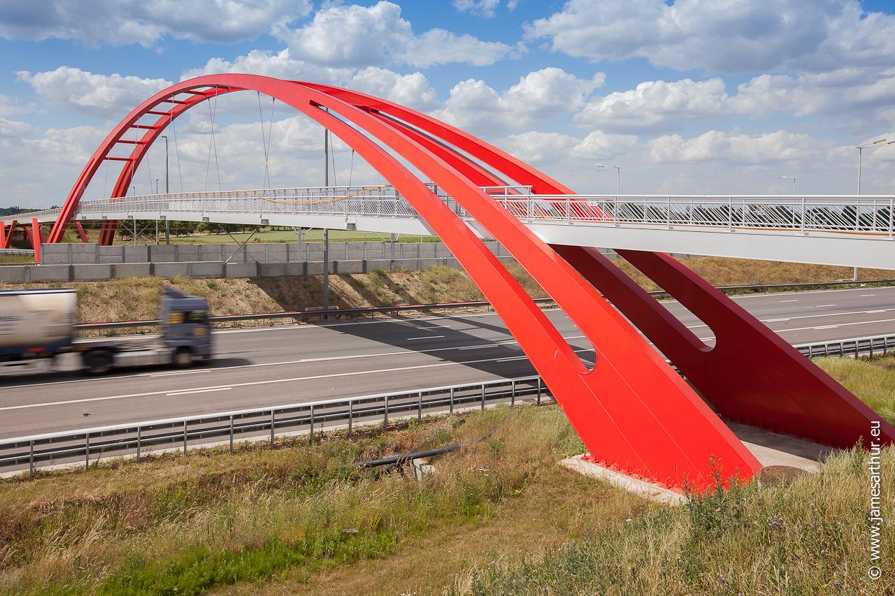 Fietsersbrug E19 Vilvoorde (3 of 5)