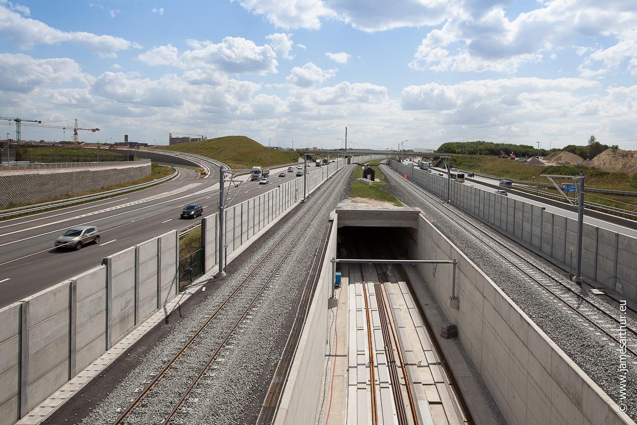 Fietsersbrug E19 Vilvoorde (4 of 5)
