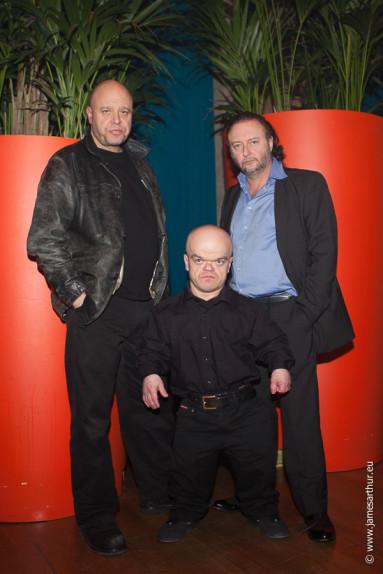 Cast Crimi Clowns, Manou Kersting, Chris Willemsen & Luk Wyns