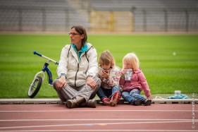 Tia Hellebaut en dochters,