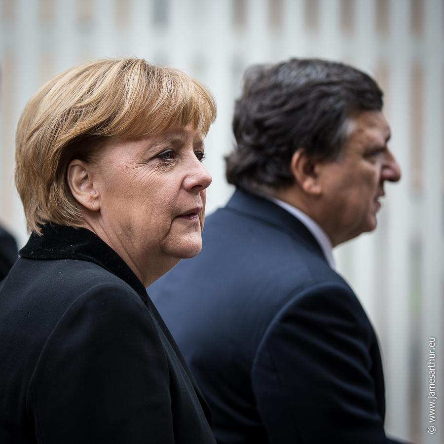 Angela Merkel, Bondskanselier Duitsland, José Manuel Barroso