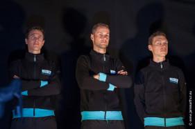 vlnr Nikolas Maes, Tom Boonen, Niki Terpstra