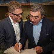 Brian Holm & Eddy Merckx