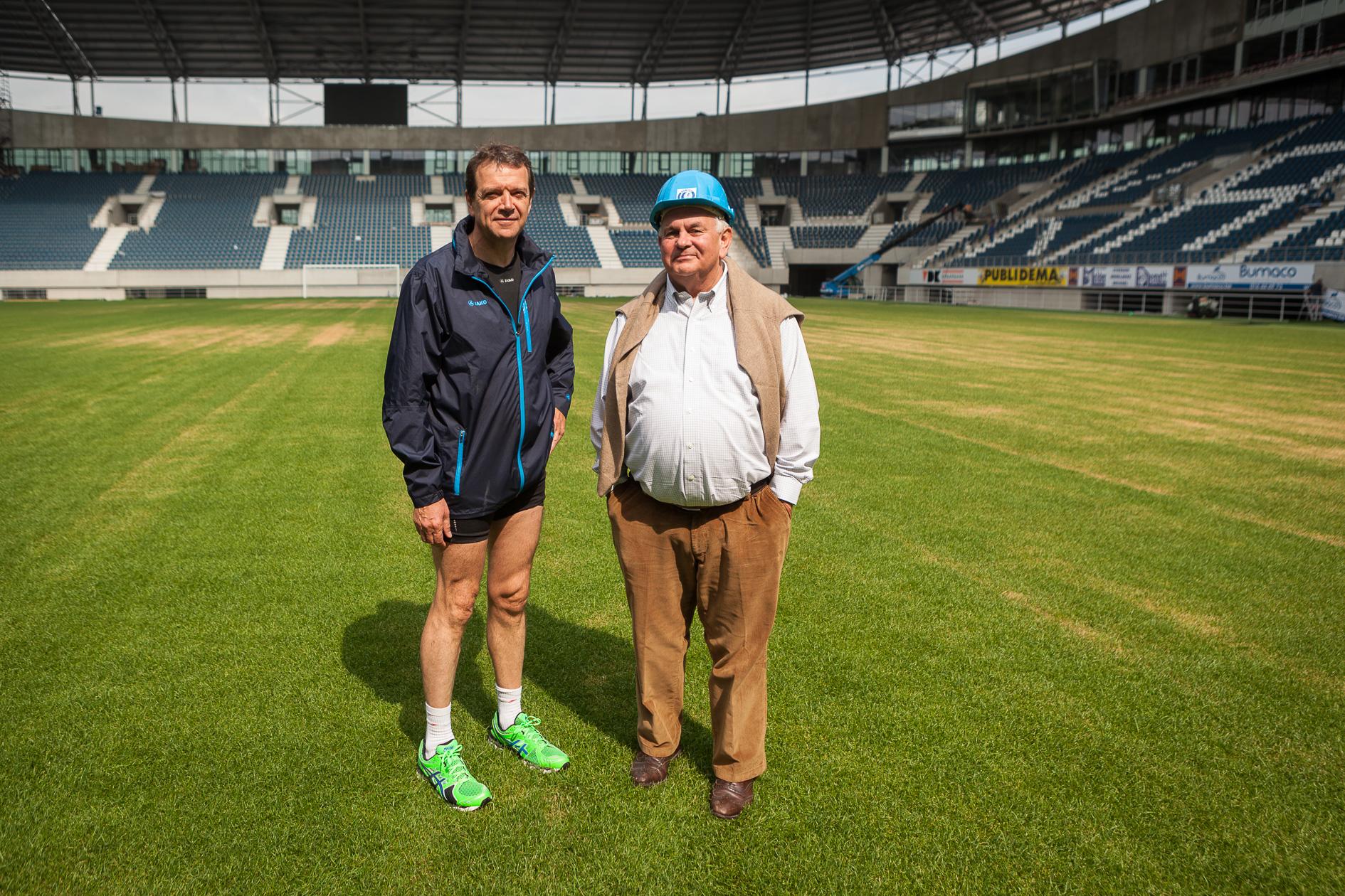 Ivan De Witte en Michel Louwagie