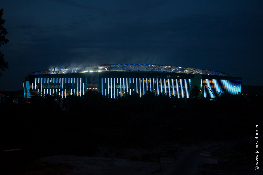 ASS HLN Ghelamco Arena by night