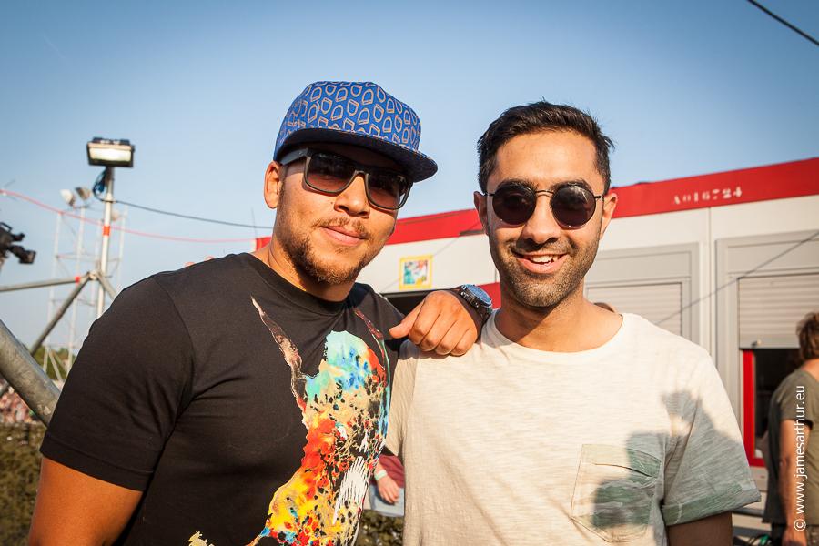 Kesi Dryden & Amir Amor (Amir Izadkhah), Rudimental