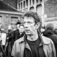 Begrafenis Luc De Vos, Chris Dusauchoit.