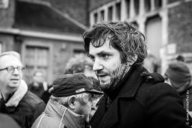Begrafenis Luc De Vos, Lieven Scheire.
