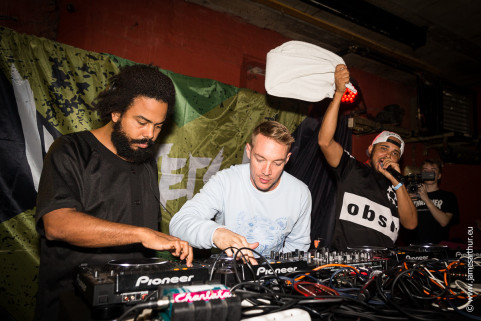 Major Lazer on tour in Belgium