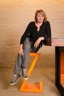 Fotografe Lieve Blancquaert in haar studio