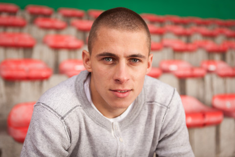 Thorgan Hazard in Waregem