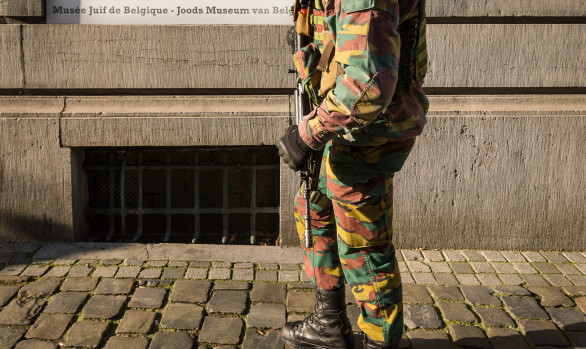 Militairen Joods Museum, Brussel, januari 2015