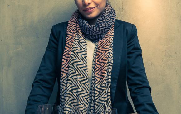 Sepideh Sedaghatnia voor NINA magazine