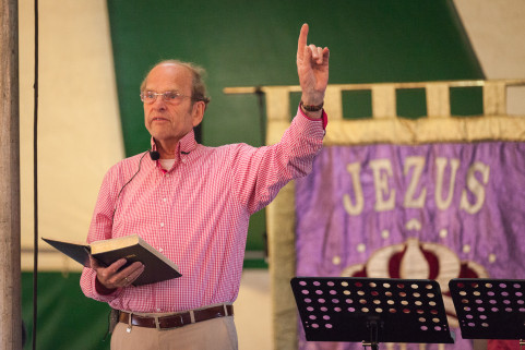 Evangelist Bert Bruinekreeft in Middelkerke
