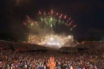 Tomorrowland 2014: Mainstage vuurwerk