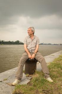 Muzikant / presentator Jan Leyers