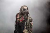 Lead singer Shagrath of Dimmu Borgir
