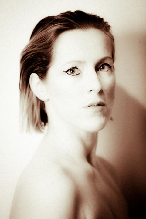 Opera zangeres Héléna Maes in Gent