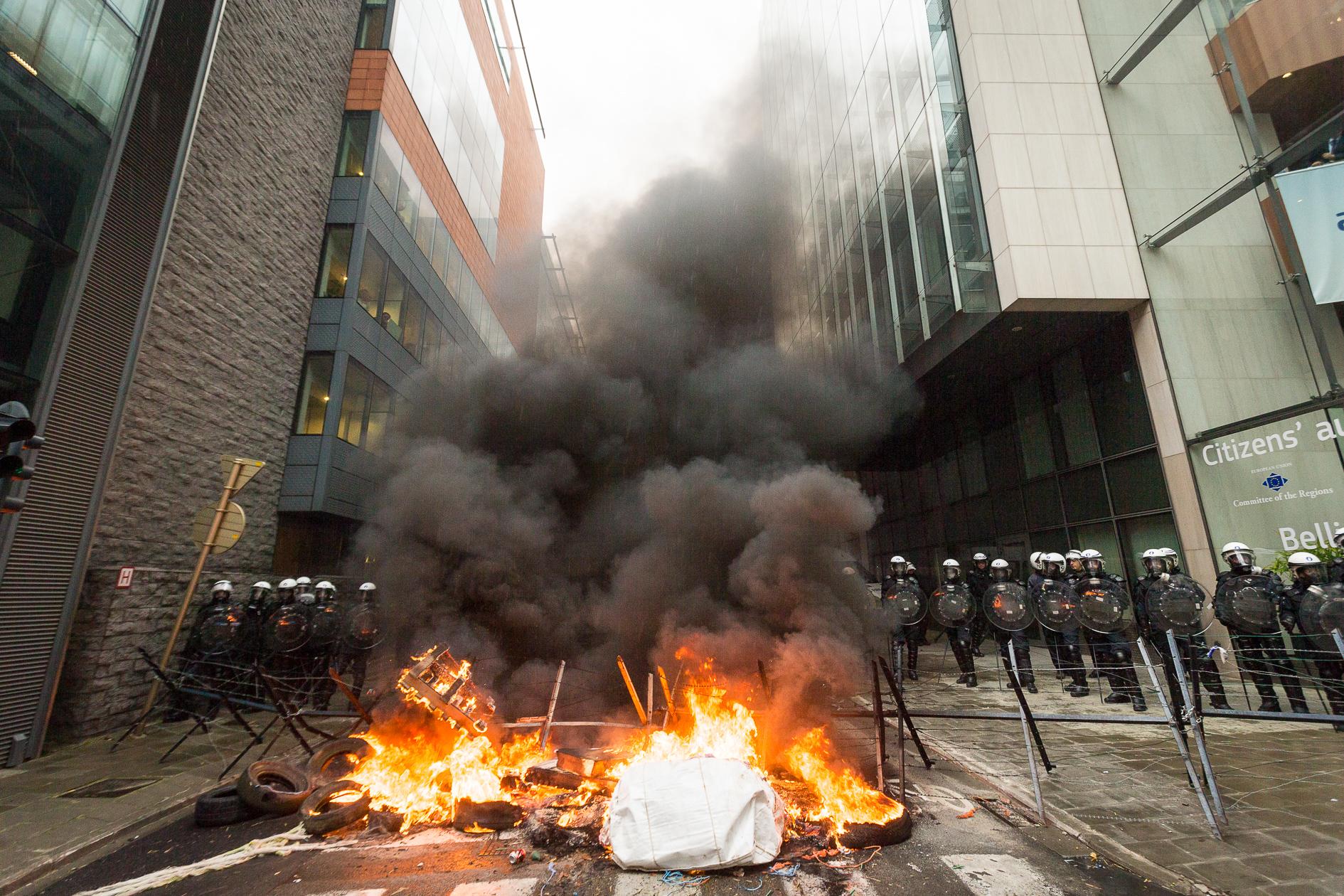 Boerenbetoging Brussel