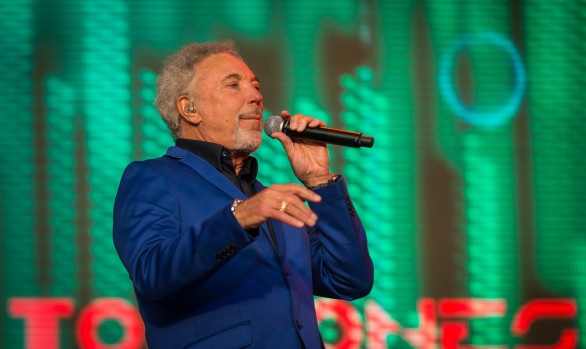 Tom Jones, Lokeren, Augustus 2015
