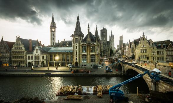 Storm in Gent