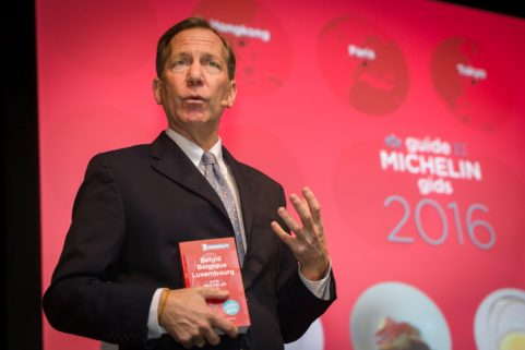 Michelin Guide Awards 2016 in Flanders Expo Gent