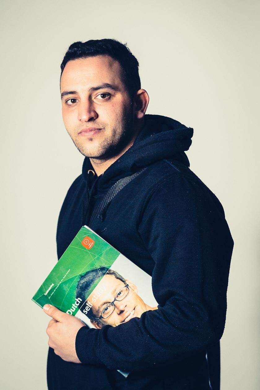 Iraqi Refugees portraited in Sijsele
