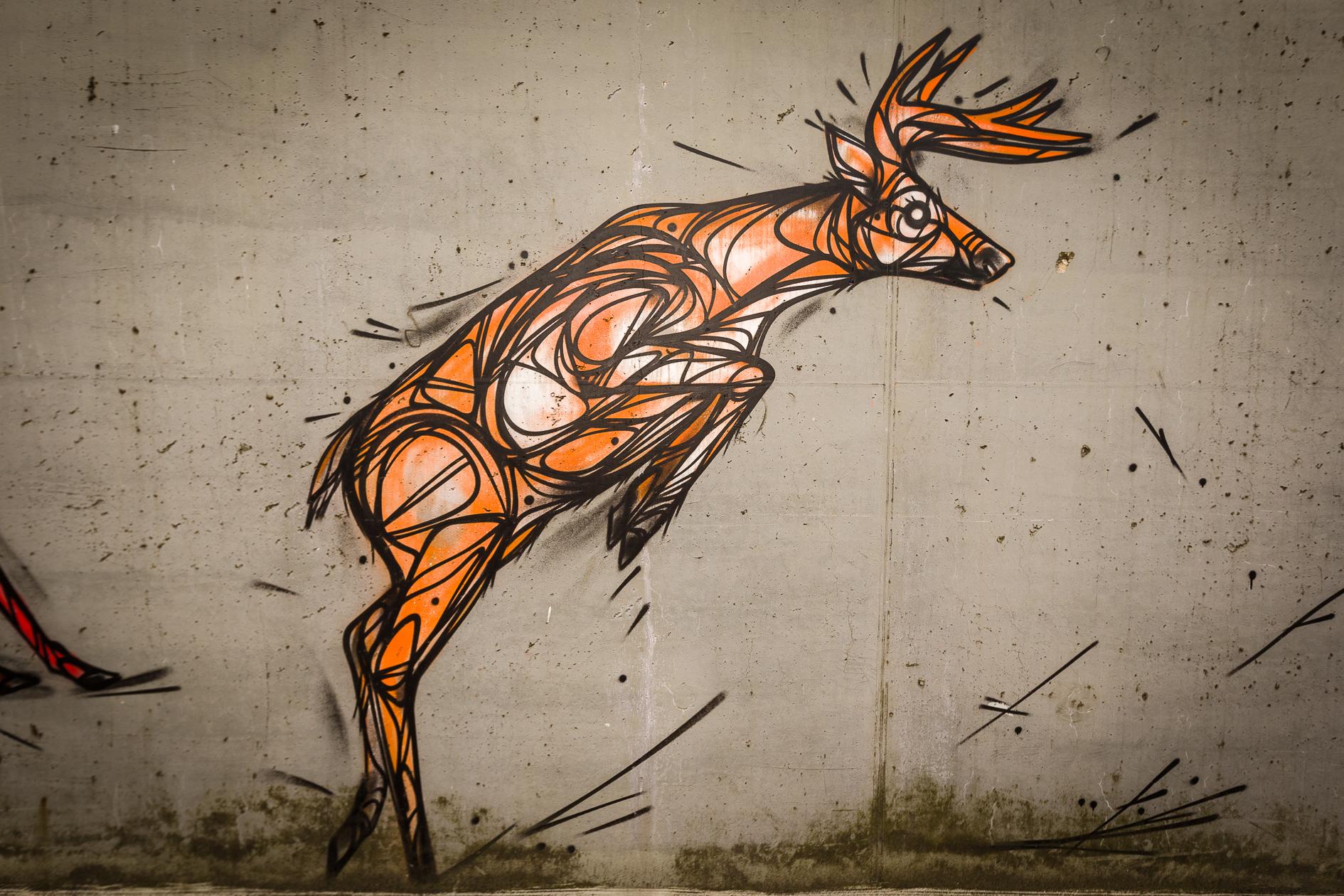 ASS HLN Graffiti fietstunnel Bornem