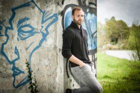 Laurent Depoitre, profvoetballer bij KAA Gent.