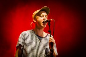 Pukkelpop 2016, Tommy O'Dell of DMA's performing on Marquee.