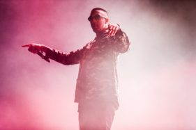 Pukkelpop 2016, Saul Milton from Chase & Status performing on the mainstage.
