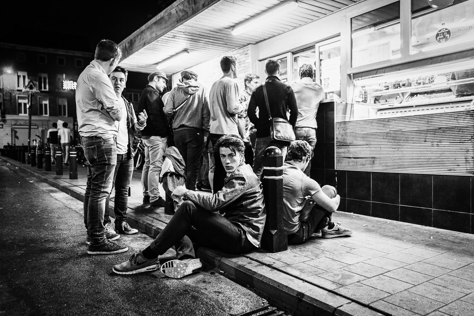De verse lading studenten in Gent