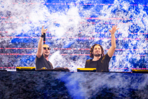Dimitri Vegas & Like Mike in Antwerp