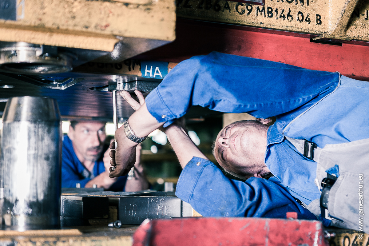 Arbeiders Ford Genk