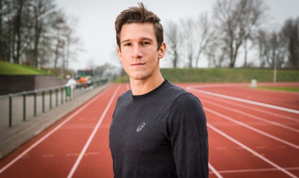 Decathlon athlete Thomas Van der Plaetsen - December 2016 - Deinze