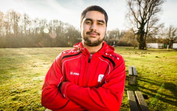 Table Tennisser Florian Van Acker - December 2016 - Gent