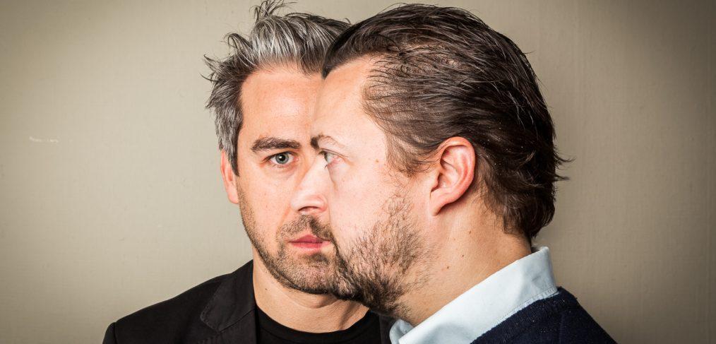 Film producent Mariano Vanhoof en Geoffrey Enthoven van productiehuis Fobic Films