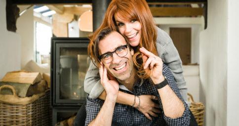 Jan Schepens en Katja Retsin voor Gezinsbond magazine
