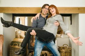 Katja Retsin en Jan Schepens