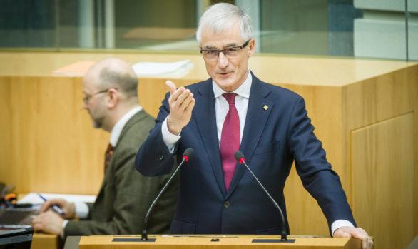 Plenaire zitting Vlaams Parlement voor Belga Agency