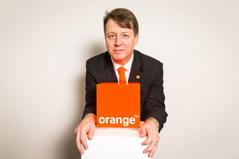 Mobistar becomes Orange, CEO Jean-Marc Harion in Diegem