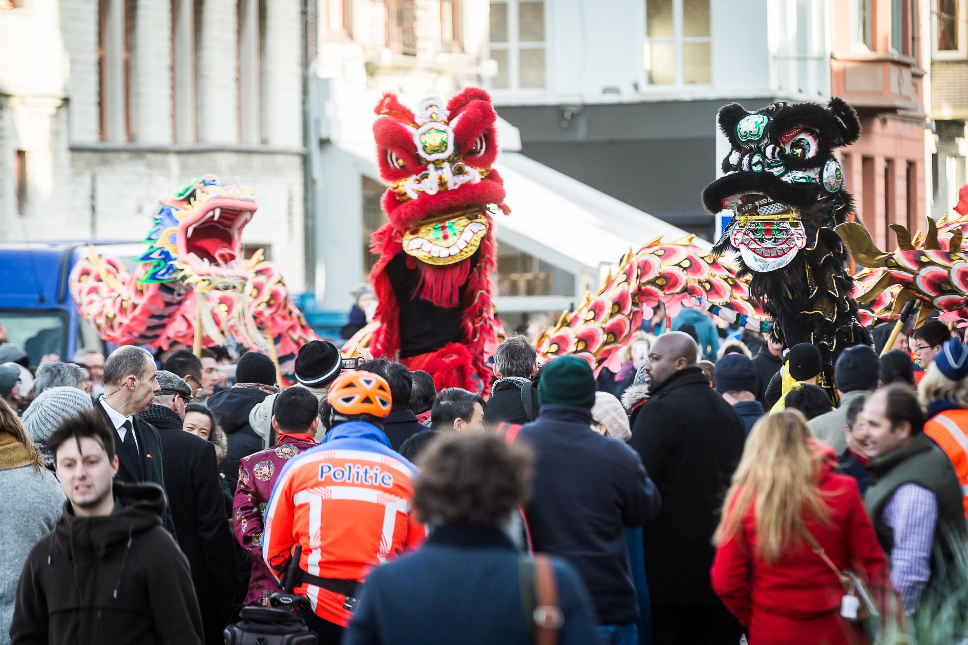Chinees Nieuwjaar Gent