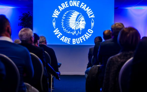 New Year party for KAA Gent at Ghelamco Arena