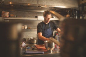 Olly Ceulenaere, Flemish Foodie en sterrenchef van restaurant Publiek.